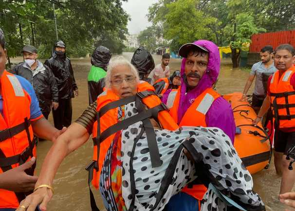 Monsoon 'fury' batters India, leaving at least 125 dead
