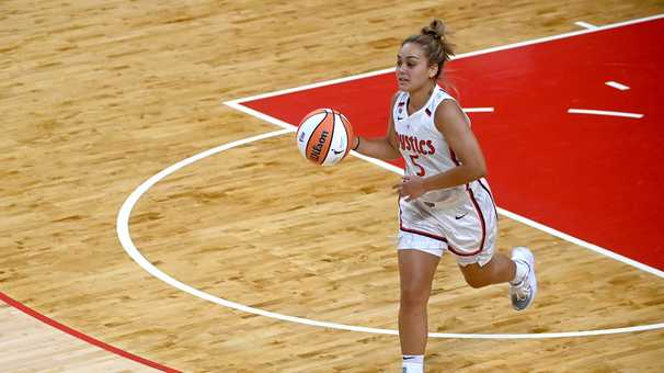 Mystics guard Leilani Mitchell is rolling after a slow start with Olympics on the horizon