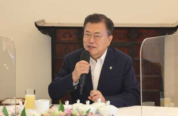 South Korea's Moon scraps Olympic visit after diplomat's 'unacceptable' remark