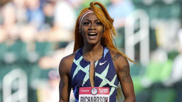 Sprinter Sha'Carri Richardson suspended one month after marijuana test, putting Olympics in doubt