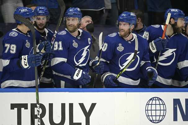 Tampa Bay is on the cusp of a sweep and its second Stanley Cup title in just over nine months