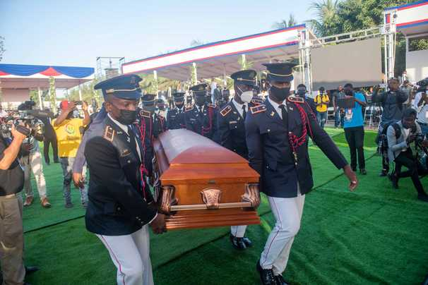 Tensions simmer in northern Haiti amid funeral for assassinated president