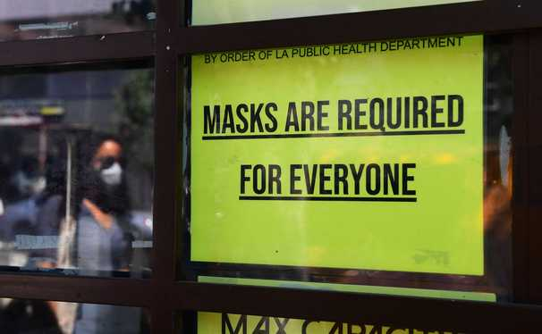 The problem with Los Angeles County's mask mandate