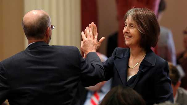 This state senator once caused McDonald's to change. No wonder she took on the NCAA.