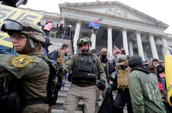 U.S. arrests more than a dozen in Capitol riots, among the most made public in a single day