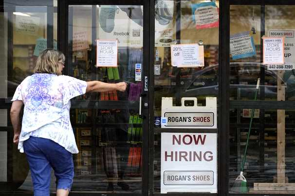 Unemployment claims jumped to 419,000 last week, a sudden increase reflecting an unsettled labor market