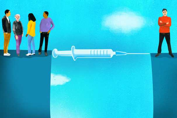 Why many of the unvaccinated insist on going without