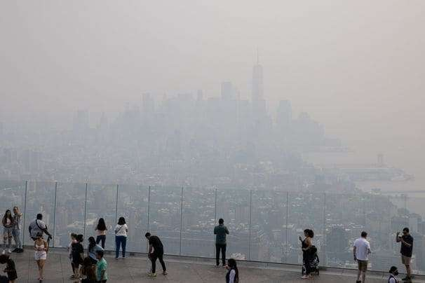 Wildfire smoke can drift across the country. Here's how to protect yourself.