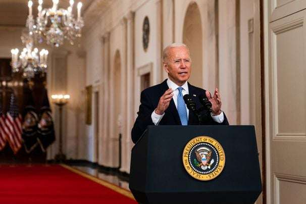 Biden tries to make Americans feel the costs of a war that few of them were paying