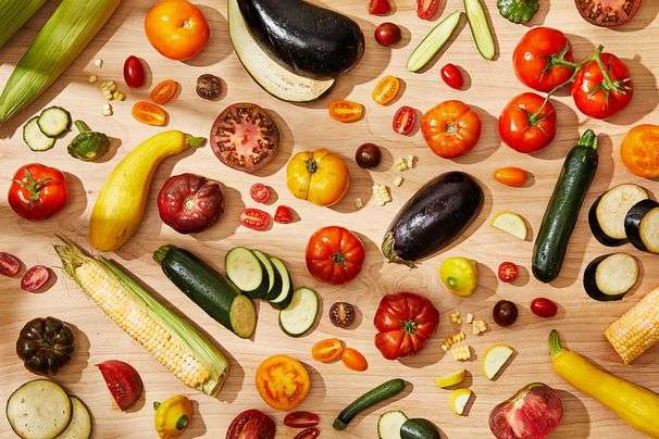 Celebrate summer tomatoes, corn, squash and eggplant with recipes from the Arab kitchen