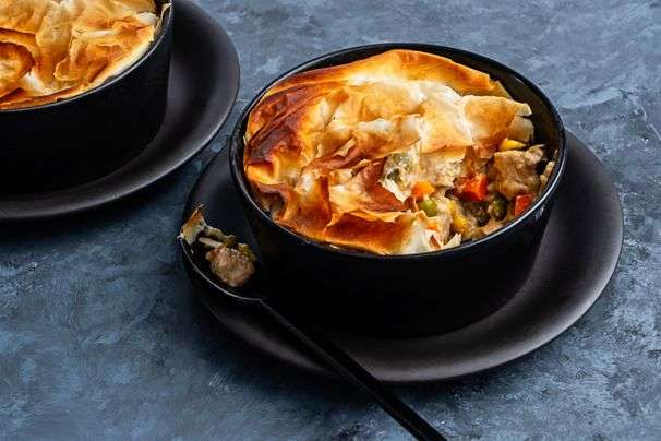 6 crispy phyllo recipes including pot pies, turnovers and galettes