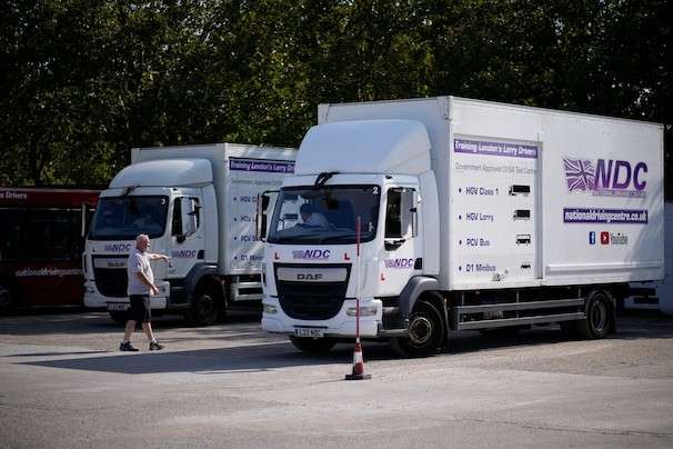 Britain opens up visa rules as it wrestles with critical truck driver shortage