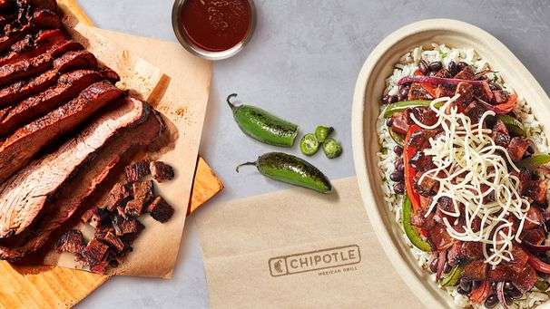 Chipotle's new smoked brisket hits the mark, when it's not buried in a burrito