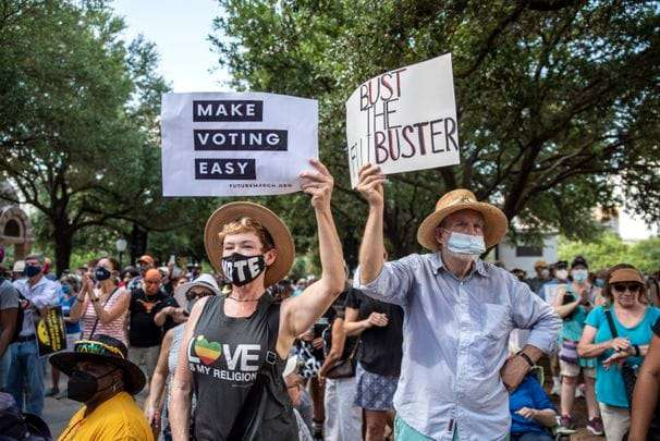 New Texas voting bill deepens growing disparities in how Americans can cast their ballots
