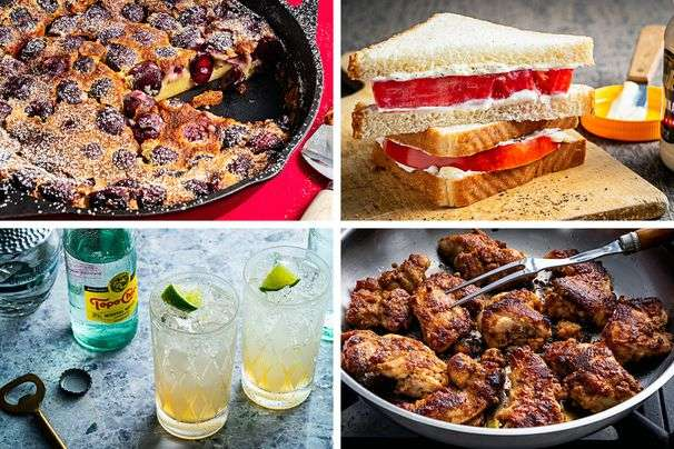 Our top 10 summer recipes showcase tomato sandwiches, watermelon salad and Ranch Water