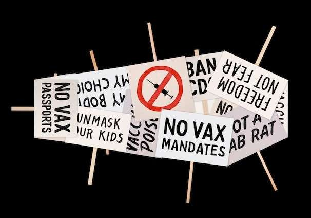 Remaining unvaccinated in public should be considered as bad as drunken driving
