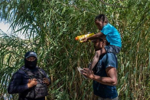 Surge of Haitian migrants at the U.S. border challenges Mexico, too