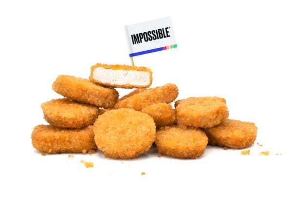The new Impossible nuggets actually taste like chicken