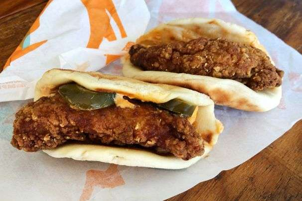 The Taco Bell chicken sandwich taco is the change of pace we needed