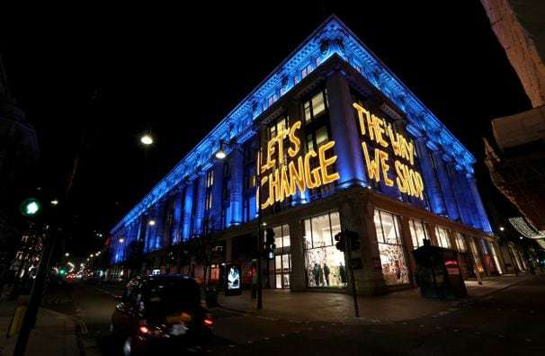 Another London must-see: Selfridges, the iconic luxury department store