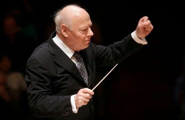 Bernard Haitink, renowned Dutch orchestral conductor, dies at 92