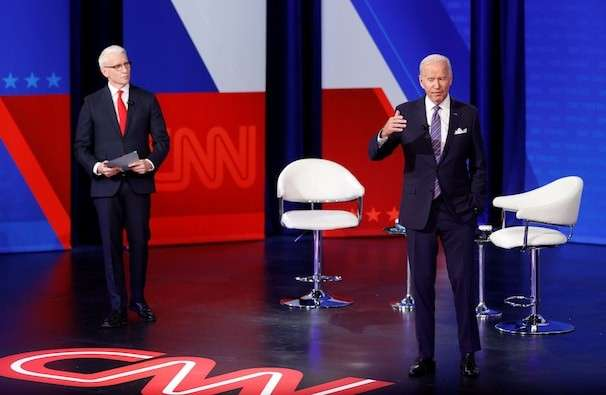 Biden town hall live updates: Biden expresses optimism about deal on expansive domestic policy agenda