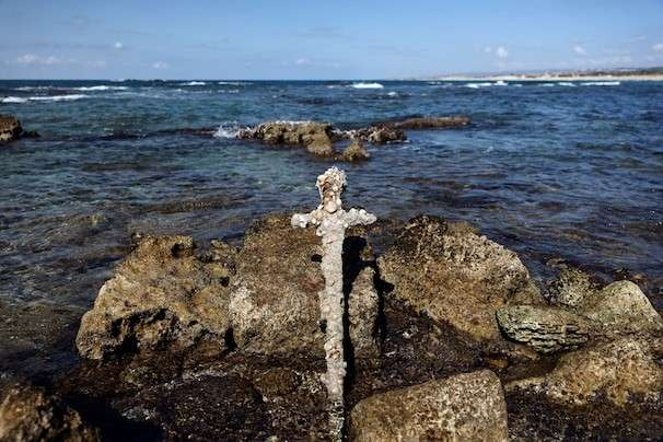 Israeli diver finds 900-year-old sword, said to be Crusader knight's weapon, on Mediterranean seabed