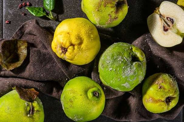 Quince evokes mystery and magic as heat turns the fruit from woody to luscious