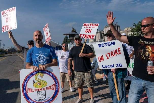 Strikes are sweeping the labor market as workers wield new leverage